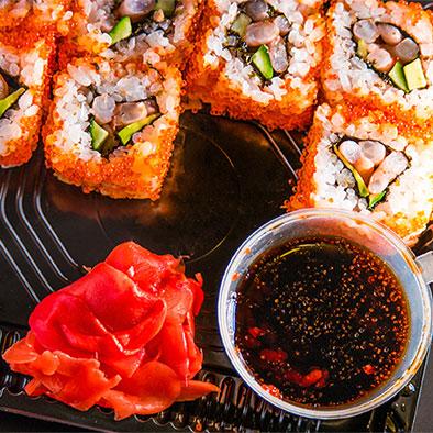 Zen Garden Fish Dish