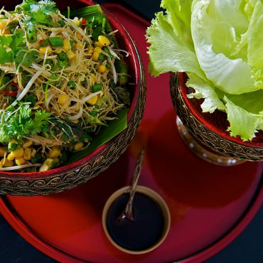 Vegetarian-Lettucewrap