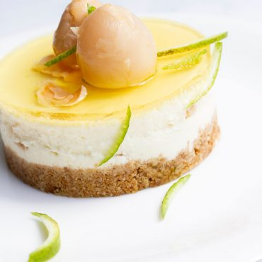 lychee-&-lime-cheesecake